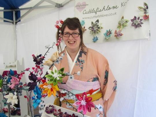 Me, Cuttlefishlove Kanzashi !  image by Ali_Haikugirl